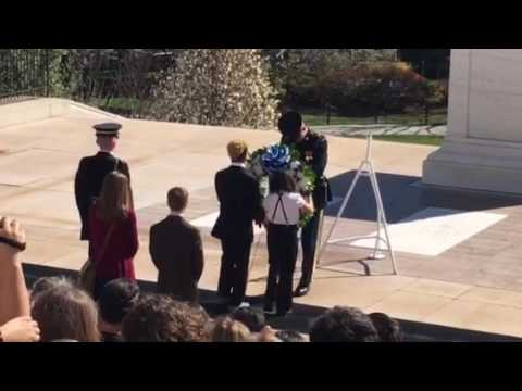 Hollis Brookline Middle School - Wreath Laying