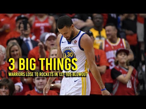 3 Big Things: Durant needs Curry's help to beat Rockets
