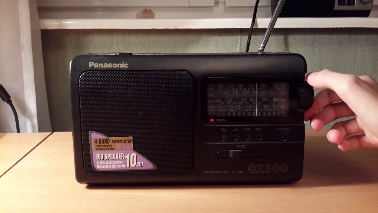 Распаковка Panasonic RF-P50 - YouTube
