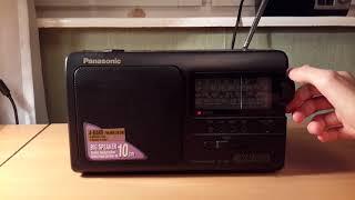 Обзор радиоприёмника Panasonic GX500 FM, LW, MW, SW