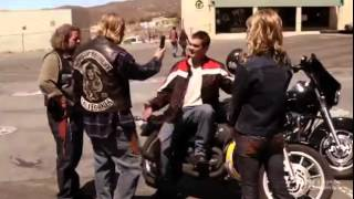 Никогда не садись на чужой байк / Don't ever sit on another man's bike, asshole!