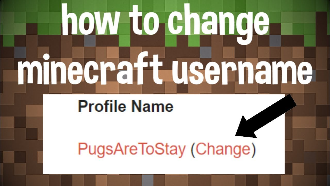 How To Change Your Minecraft Username Windows Mac YouTube - Minecraft namen andern mac
