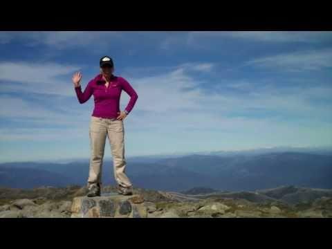 Erin Climbs Mt. Kosciuszko, Australia