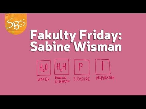 Fakulty Friday: Sabine Wisman