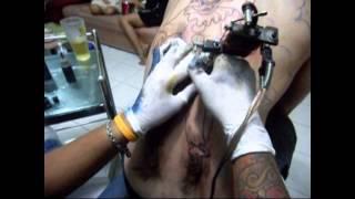 Repeat youtube video สักลายโจกเก้อ Joker tattoo โจกเก้อ ช่างเก๋ รับสักลาย