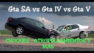 Gta San Andreas vs Gta IV vs Gta V