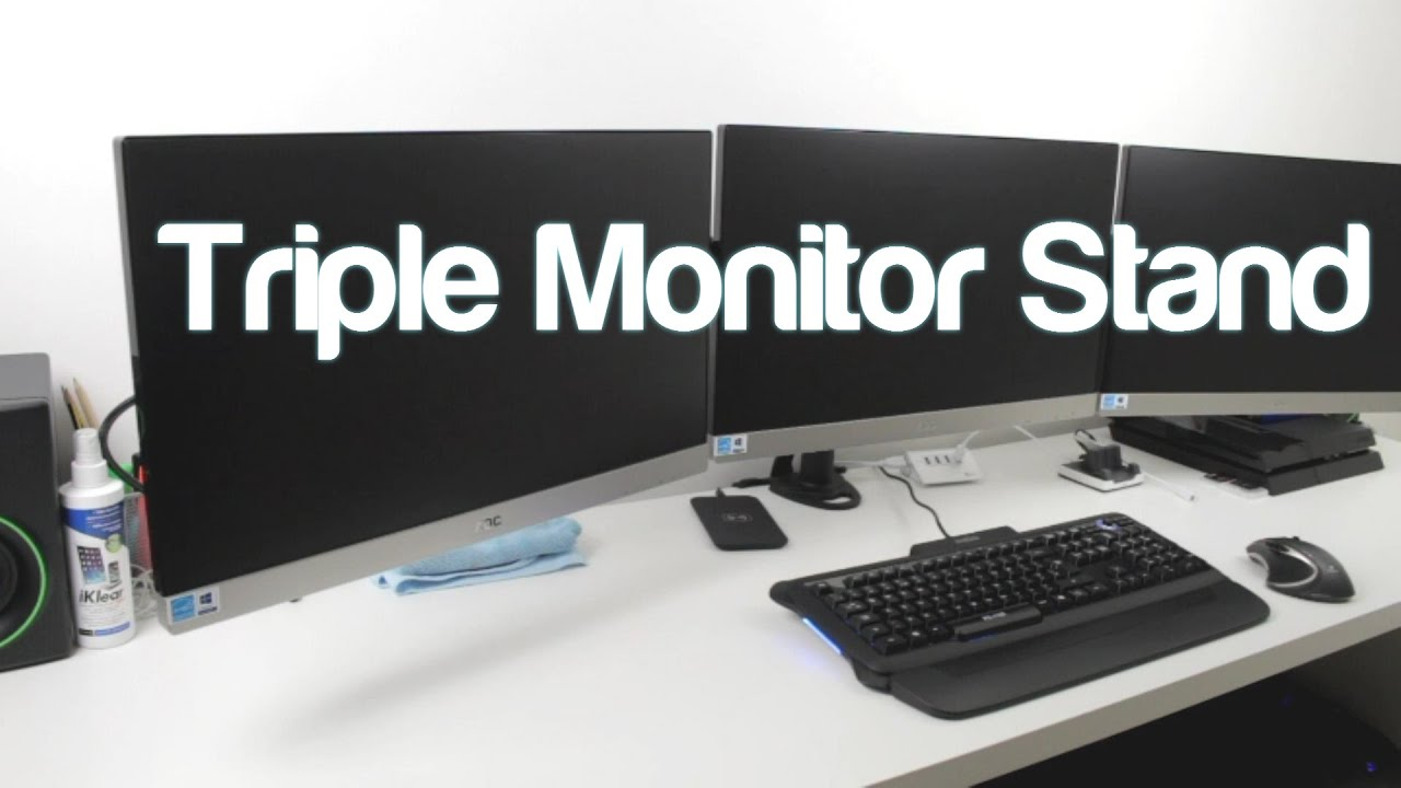 novatech triple monitor stand review