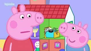 (бг аудио) Прасето Пепа - Епизод 47 - Господин Слабокрачко / Peppa Pig на български