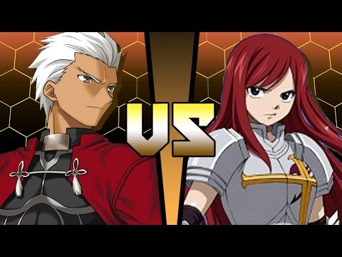 Archer Fate Stay Night Vs Erza Scarlet Fairy Tail Anime Battle Coliseum Youtube Now i have to watch f/sn. archer fate stay night vs erza scarlet fairy tail anime battle coliseum