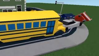 That's how School Bus Works [Roblox]