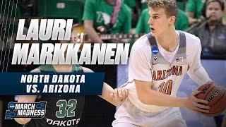 Lauri Markkanen scores 20 points to lead Arizona past SDSU