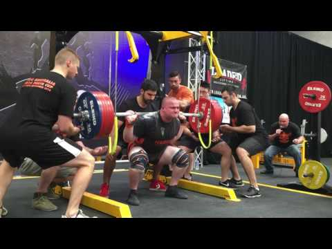 Trent Harris 810kg/1786lb total @110kg 19 years old