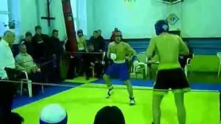 Кикбоксёр против боксёра! Беспредел судьи!!