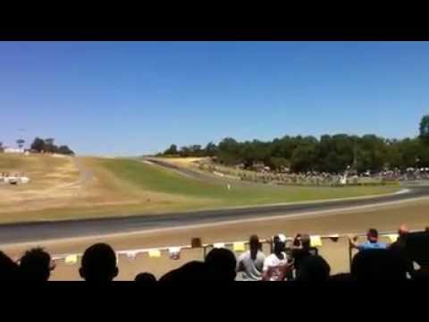 Daniel Ricciardo F1 at Barbagallo