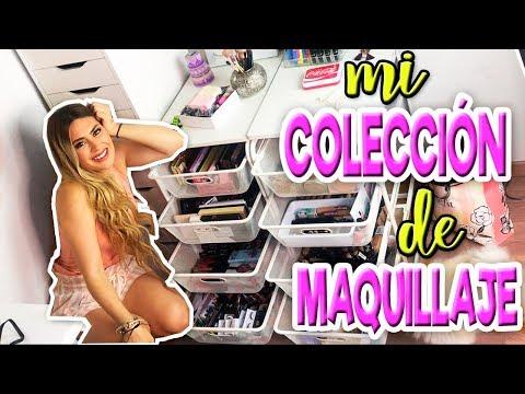 MI COLECCIÓN DE MAQUILLAJE!!! 😱 y ROOM TOUR 2019 thumbnail
