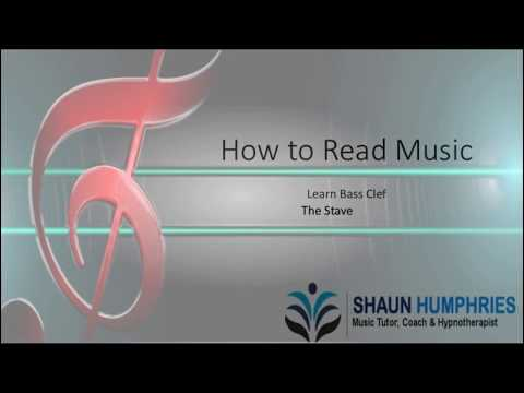 Learn to Read Music  - Bass Clef
