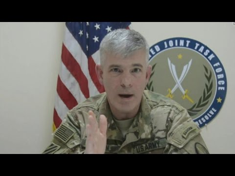 Baghdad Briefing with Colonel Warren on Operation Inherent Resolve