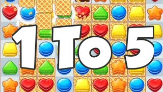 Cookie Jam Blast Game   Cookie Crush Games   Puzzle Games Android   Level 1 To 5 screenshot 1