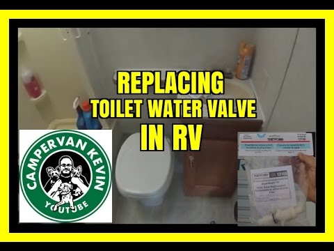 Replacing Water Valve in Rv Toilet