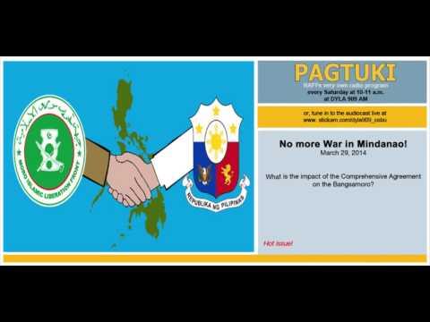 Mar. 29, 2014 Pagtuki - No More War in Mindanao! Part 1