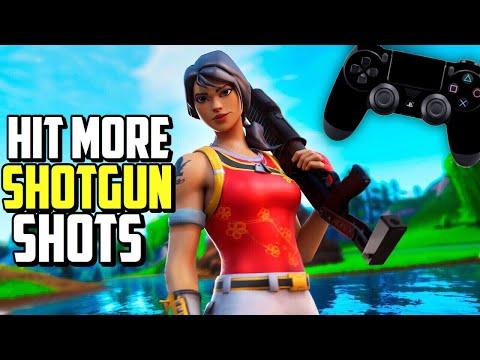 ADVANCED Controller Shotgun Aim Tutorial Fortnite! (PS4/Xbox Fortnite Shotgun Tips)