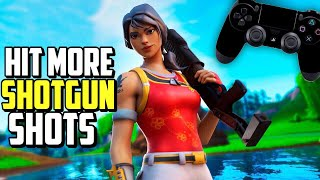 ADVANCED Controller Shotgun Aim Tutorial Fortnite! (PS4/Xbox Fortnite Shotgun Tips)