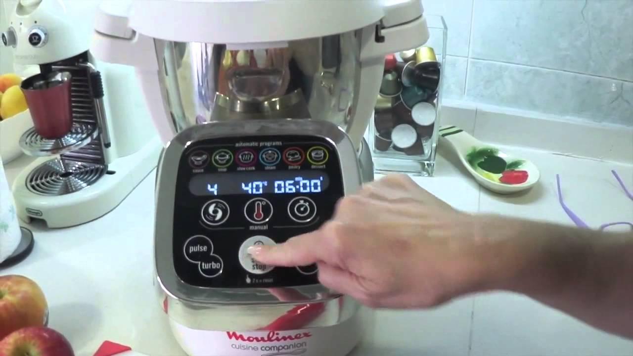 Robot De Cocina Moulinex Cookeo Recetas | Bizcocho De Manzana Con Cuisine Companion Moulinex Cocina Con