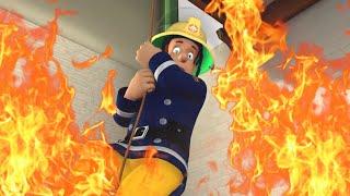 Sam il Pompiere italiano | Salvataggio in corda 🔥Nuovi Video 🚒 Cartoni animati