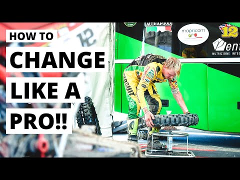 HOW TO CHANGE A MOTORBIKE TYRE...like A PRO!