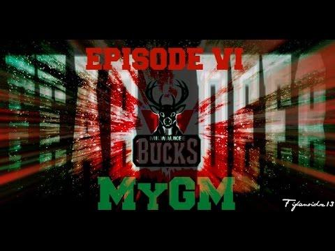 NBA 2K15 MILWAUKEE BUCKS MyGM EP.#6 ~ TRADE OR NOT, READY TO PLAY