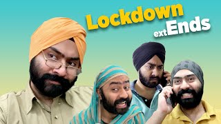 LOCKDOWN EXTENDS | Harshdeep Ahuja feat. Mister Param
