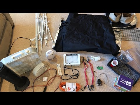 Setting Up A 2X4 Grow Tent |  GreenBox Grown Mini Indoor Cannabis Grow Kit
