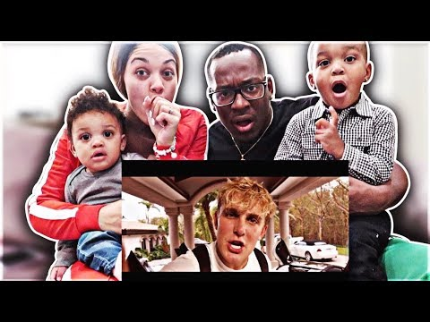 REACTING TO JAKE PAUL - ITS EVERYDAY BRO (REMIX) FEAT. GUCCI MANE WITH DJ & KYRIE!!!