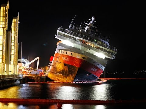 Damage to the ship: storm, fires, collisions