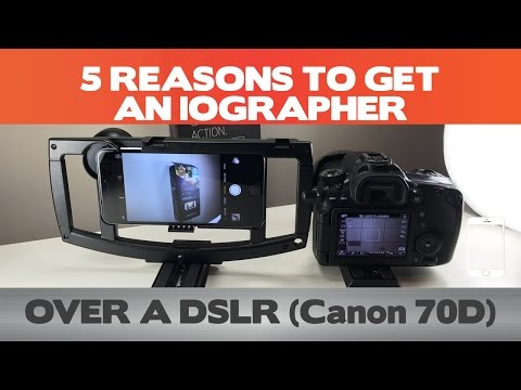 5 Reasons to DITCH your DSLR for an iOgrapher - iPhone 6(s) Plus Filmmaking Setup