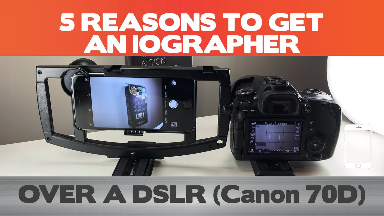 wholesale dealer 9326d db175 5 Reasons to DITCH your DSLR for an iOgrapher - iPhone 6(s) Plus Filmmaking  Setup