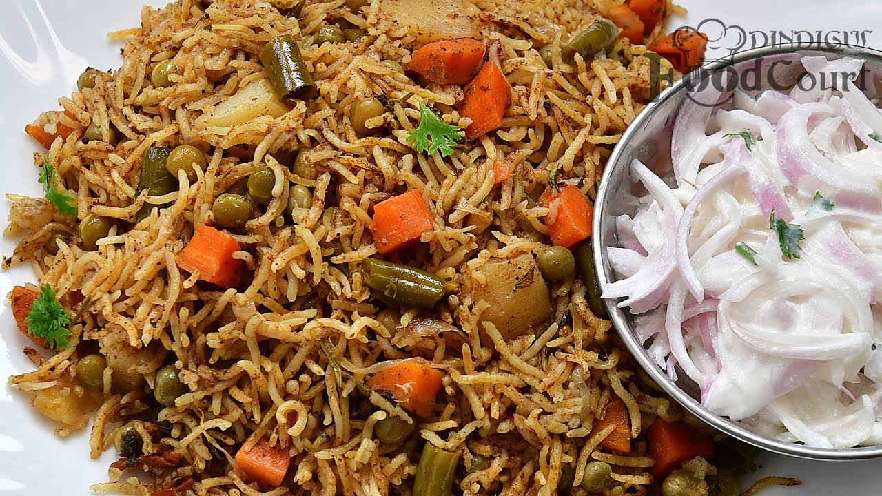 Vegetable Biryani/ Veg Biryani/ Vegetable Biryani in Pressure Cooker