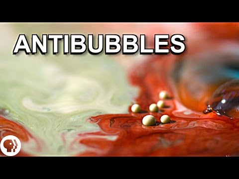 """You Can Make These Mysterious """"Antibubbles"""" at Home"""