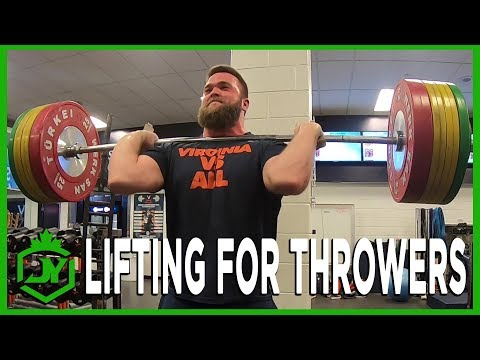 LIFTING FOR THROWERS PEAKING FOR COMPETITION JY THROWS S3 E5