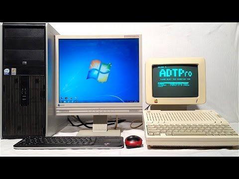 Как записать дискеты для Apple II на русском языке