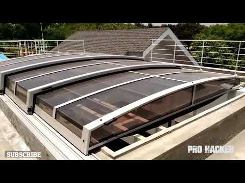 INCREDIBLE AND AMAZING  RETRACTABLE ROOF Compilation