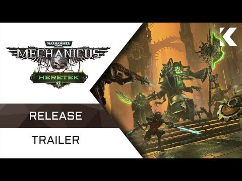 Warhammer 40,000: Mechanicus - Heretek Expansion | Release Trailer
