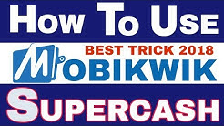 How to use Mobikwik Supercash Balance   Best Trick 2018   by Indian Digital Tech