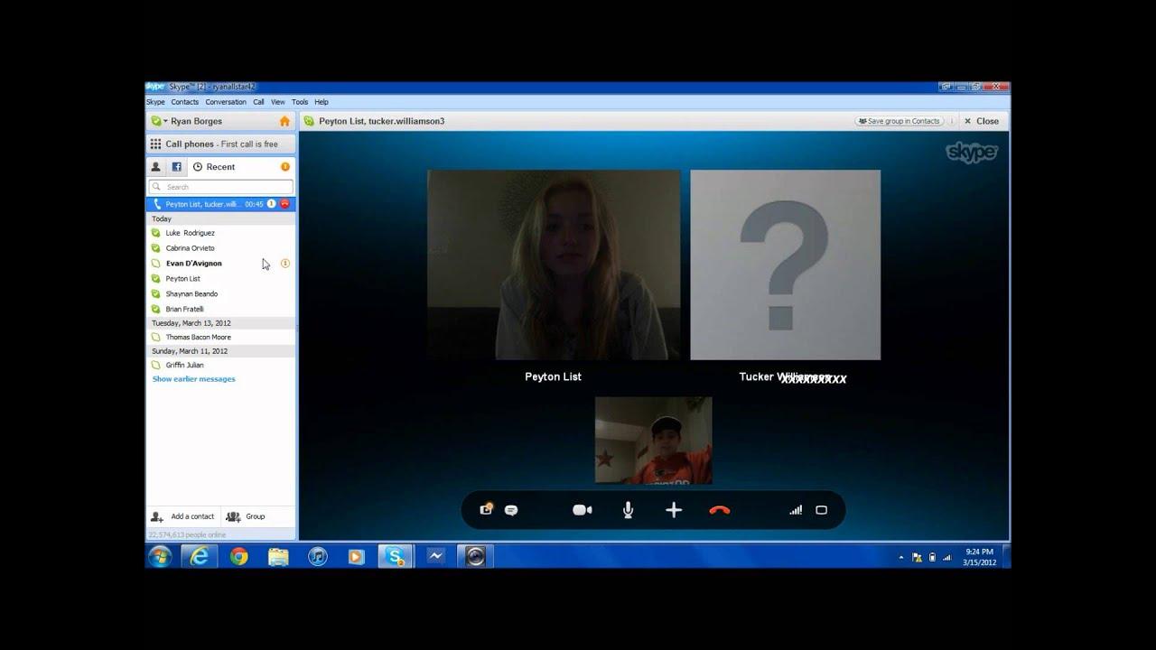 Cute Girl Wallpaper Sims 3 Peyton List Skype Video Chat Youtube