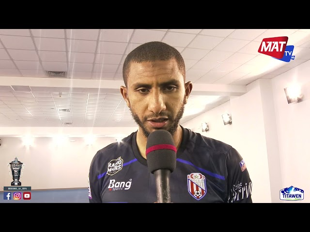 تصريح البطل عادل الحسناوي بعد التأهل إلى نصف نهائي كأس العرش🏆