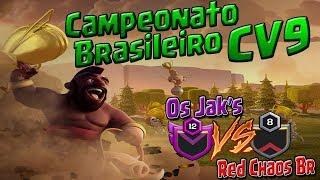Clash of Clans - Começou o Campeonato Brasileiro de CV9. Os melhores ataques da guerra!