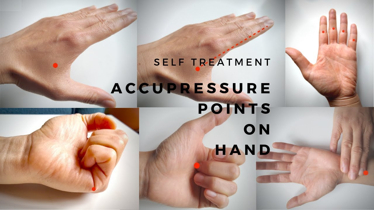 Hand acupressure points-pain relief, constipation ...