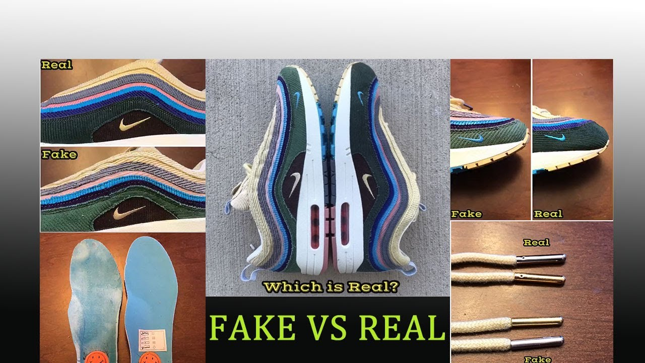 Updated REAL VS FAKE Air Max 197 Sean Wotherspoon+ God Version Review