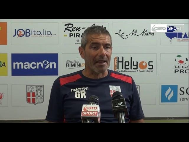 Icaro Sport. Rimini-Pordenone 2-2, il dopogara di Gian Luca Righetti