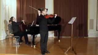 L. van Beethoven   -  Sonata op. 47 (Kreutzer) - 1, Adagio sostenuto, Presto